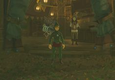 How Zelda NPCs react to Tingle in Breath of the Wild