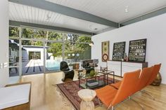 Dream house in Pasadena: Mid-century post and beam