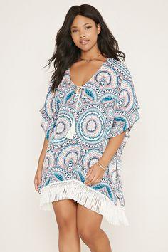 Plus Size Bandeau Bikini Top | Forever 21 PLUS - 2000184990