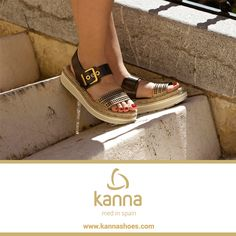 http://www.kannashoes.com/ Med in Spain 2016 #shoes #kannashoes #kanna #fashion #mediterranean #espadrilles #2016 #trend #style #woman #musthave #ootd #spring #summer