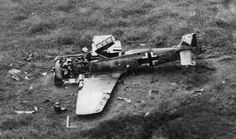FW190 shot down over Normandy - pin by Paolo Marzioli