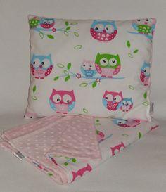 PODUSZKA MINKY BAWEŁNA - Lilly_Collection - Poduszki dla niemowląt