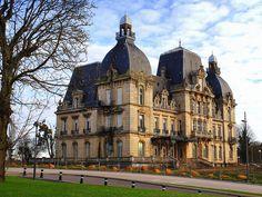 chateau de Merci. Metz. Lorraine