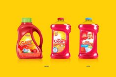 Clean redesign is a holistic brand restage that leverages the Mr. Clean character's unique backstory and personality. Detergent Bottles, Laundry Detergent, Brand Packaging, Packaging Design, Mr Clean, Sub Brands, Plastic Packaging, Design System, Creativity And Innovation
