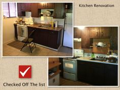 Small refreshed kitchen
