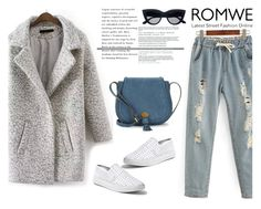 """Romwe"" by dumspirospero-l ❤ liked on Polyvore featuring Nanette Lepore and Steve Madden"