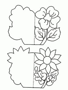 Resultado de imagen para mother day card for coloring Kirigami, Diy And Crafts, Crafts For Kids, Paper Crafts, Parchment Craft, Shaped Cards, Mom Day, Mothers Day Crafts, Pop Up Cards