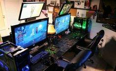 Fun computer setup