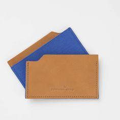 Beach Boy Slim Wallet (Tan/Blue)