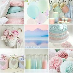 Life in pastel