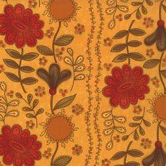 Sunshine Phenomenal Fall Fabric  Moda  by QuiltsFabricandmore, $10.49