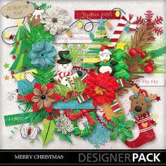 Kit Merry Christmas by Scrap de Yas (PU)