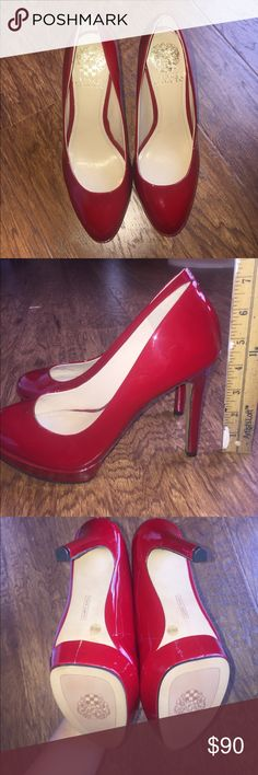 Spotted while shopping on Poshmark: Vince Camuto red Heels! NEW!!!! #poshmark #fashion #shopping #style #Vince Camuto #Shoes
