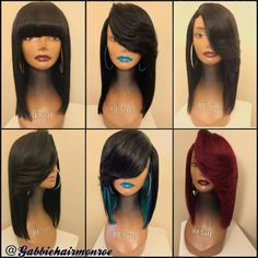 The hair wig experts in Colombo and Mumbai! We have natural looking, undetectable, semi-permanent wigs for men/ women suffering from all types of hair loss My Hairstyle, Wig Hairstyles, Black Hairstyles, Haircuts, Natural Hair Wigs, Natural Hair Styles, Wig Styles, Short Hair Styles, Feathered Bob