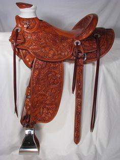 Half Seat Wade Saddles | The Peter Campbell Saddles | John A. Visser Saddlery