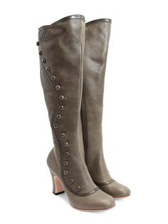 These gorgeous Edwardian styled high boots are the holy grail item at Fluevog. Just amazing!