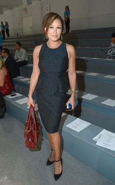 Vanessa Williams looked sharp and sophisticated at the Carmen Mac Valvo show on Friday.