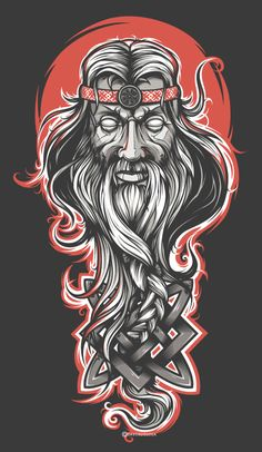 Svarog. Slavic sun and fire god.