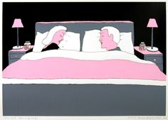 Pushwagner - En dag i familien Manns liv: nr 3 - Mamma & Pappa Scandinavian, Pop Art, Toddler Bed, Art Photography, Fine Art, Painting, Artists, Decor, Kunst