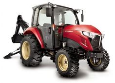 YT347C with enclosed cab with heat & A/C - Yanmar Tractor