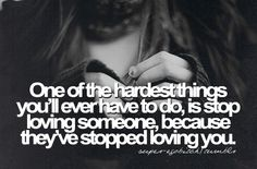 One of the hardest things to do.