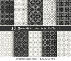 Similar Images, Stock Photos & Vectors of Triangle geometric vector pattern,patt… – Tattoo Geometric Patterns, Geometric Tattoo Pattern, Banners, Line Background, Black And White Lines, Vector Pattern, Wallpaper, Illustration, Printing On Fabric