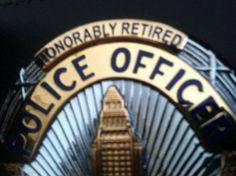 LAPD Retired badge
