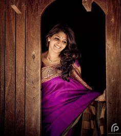 Angelic pink saree from NVY studio, chennai