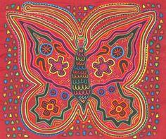Eladia Kuna Mola Maker Outsider Amp Folk Art Pinterest
