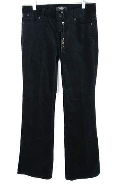 Petite black suede pants — pic 4