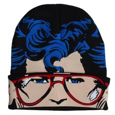 Superman Character Knit Beanie from Warner Bros.: This Superman cap features the Man of Steel's face. You'll see… #Movies #Films #DVD Video