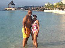 Jan & Me Enjoying An Evening On The Beach
