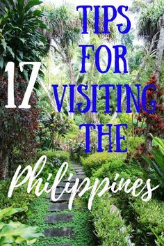 Planning a trip to the Philippines? Here are some tips!