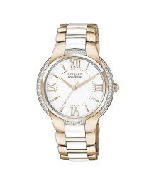 Citizen Women's Eco-Drive Ciena Diamond Accent White Ceramic and Rose Gold-Tone Stainless Steel Bracelet Watch - Citizen - Jewelry & Watches - Macy's Gold Diamond Watches, Citizen Eco, Stainless Steel Bracelet, Gold Watch, Jewelry Stores, Bracelet Watch, Rose Gold, Citizen Watches, Women's Watches