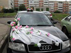 свадебное украшение на машину своими руками: 99 тыс изображений найдено в Яндекс.Картинках