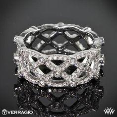Verragio Eternal Lace Diamond Wedding Ring