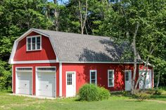 Patriot: Gambrel-Style 1 ½ Story Garage: The Barn Yard & Great Country Garages