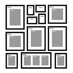 Frame Wall Collage, Frames On Wall, Picture Frame Arrangements, Frame Layout, Gallery Wall Layout, Photo Wall Decor, Photo Deco, Family Wall, Hanging Pictures