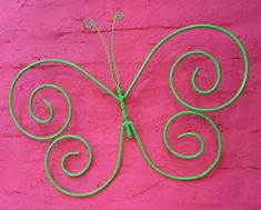 Tienda Deco C: Mariposas de hierro Diy Gifts, Diy Jewelry, Easy Diy, Neon Signs, Yard, Ideas, Iron Wall Decor, Diy And Crafts, Gardens