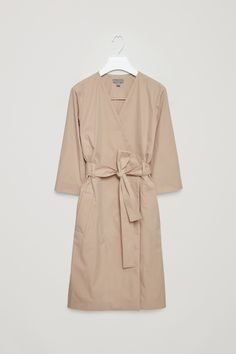 2d60550990de COS | this trench wrap khaki dress is the epitome of elegance — curated by  ajaedmond