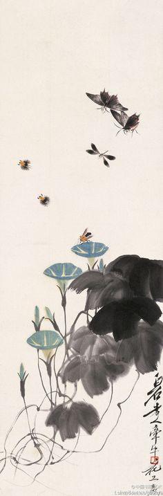 Qi Baishi, Flower