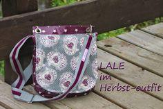elbmarie:  saddlebag LALE - may sewing pattern for oilcloth or fabric Klassische Saddlebag - für  Wachstuch, Leder oder Stoff - verschiedene Gurtvarianten möglich