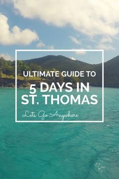 St Thomas is such a beautiful island and guess what? You don't even need a passport to go there. Here you will find the itinerary I used to explore St Thomas. Day Hotel Check-in and Frenchman's Beach We arrived in St. Thomas in the … Zealand Romantic Vacations, Romantic Travel, Dream Vacations, Vacation Spots, Vacation Ideas, Beach Vacations, Vacation Destinations, Romantic Getaways, Italy Vacation
