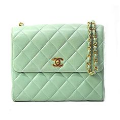 """ chanel. perfect for my roomie @Sydney Steinbrenner "" ahhh thanks shannie! love love the mint green!"