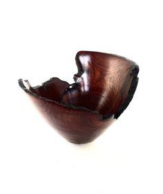 Wood Bowl No.160428 - Cocobolo Natural Edge