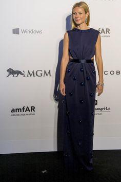 Pin for Later: Best Dressed: Die schönsten Looks der ganzen Woche Gwyneth Paltrow in Marc Jacobs Die amerikanische Schauspielerin verzauberte uns in einem verzierten Kleid von Marc Jacobs.