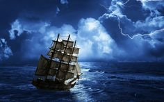 stormy seas - Desktop Wallpaper