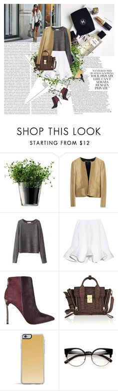 """""""Let's keep it casual we can do our thang"""" by vexybabe ❤ liked on Polyvore featuring Oris, LSA International, Gucci, Vika Gazinskaya, Sam Edelman, 3.1 Phillip Lim, Lipsy and NARS Cosmetics"""