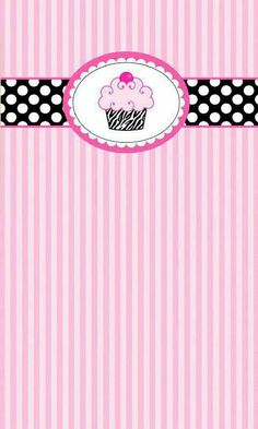 Cupcake Computer Wallpapers Desktop Backgrounds x ID Wallpaper For Your Phone, Wallpaper Iphone Cute, Cellphone Wallpaper, Mobile Wallpaper, Wallpaper Backgrounds, Music Wallpaper, Cupcakes Wallpaper, Diy Birthday Invitations, Scrapbook Paper