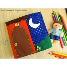 Apostila DIGITAL Livro Infantil em Feltro